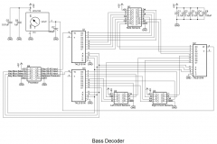4. Bass Decoder Schematic