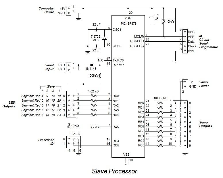 slave processor schematic