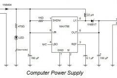 4. Computer Power Supply Schematic