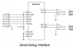 5. Serial Debug Interface Schematic