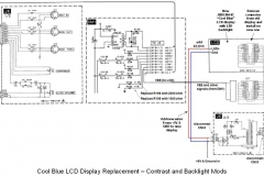 2. LCD Power Connections