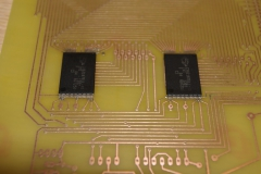 3. Sample RAM Chips Soldered